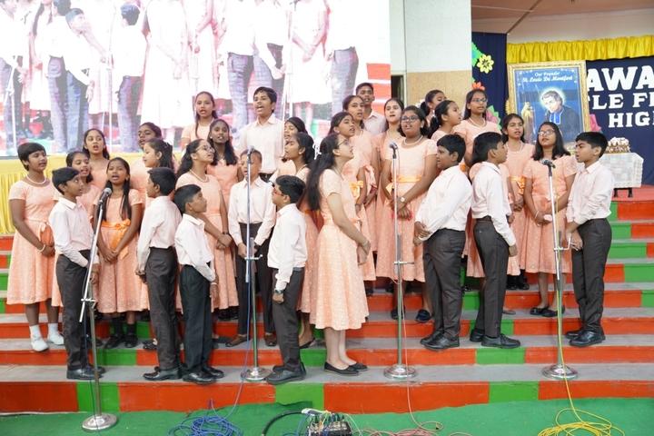 Little Flower High School-Singing
