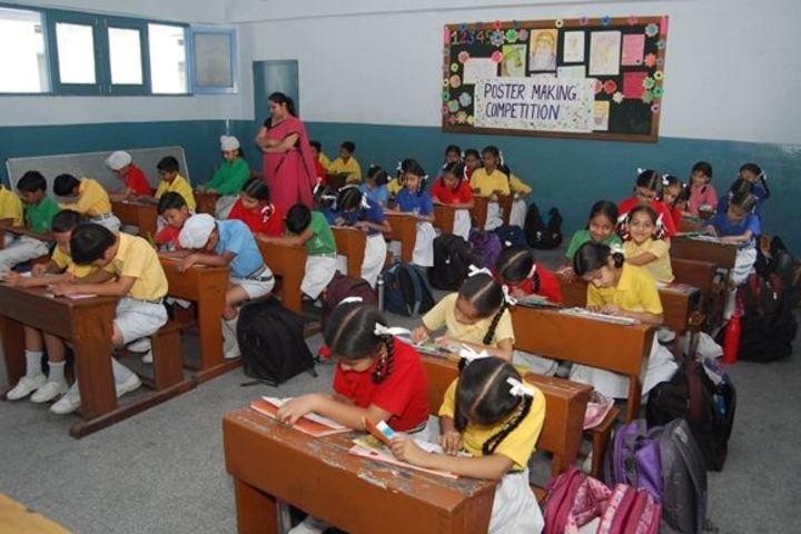 Rashtriya Sanskrit Model Senior Secondary School-Classroom