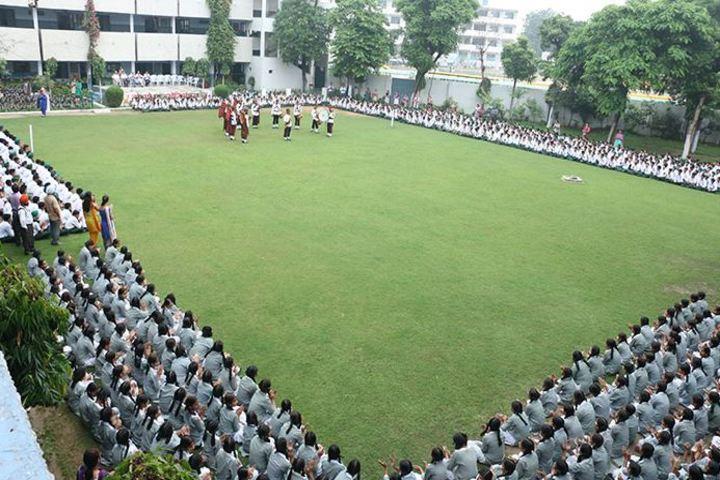 Rashtriya Sanskrit Model Senior Secondary School-Assembly Ground