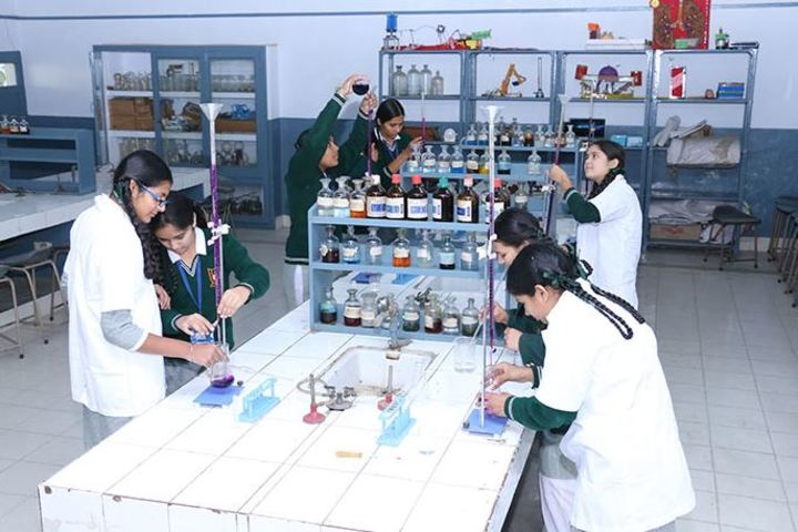 Rashtriya Sanskrit Model Senior Secondary School-Chemical Lab