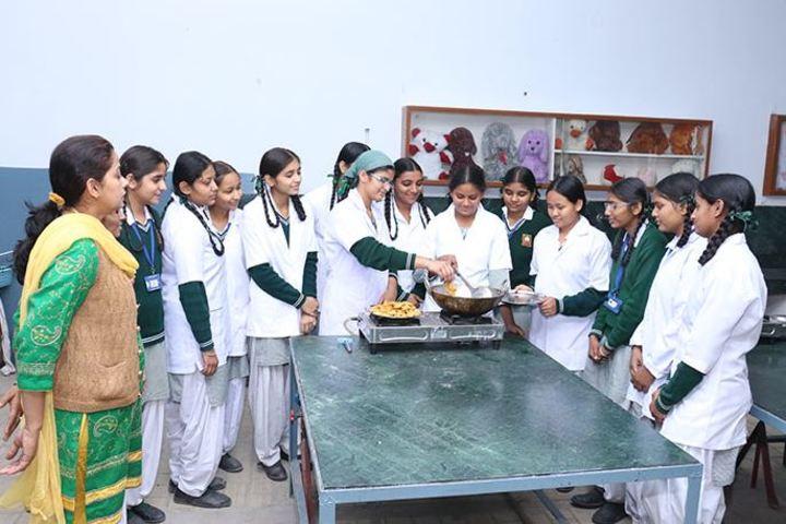 Rashtriya Sanskrit Model Senior Secondary School-Cooking Activity