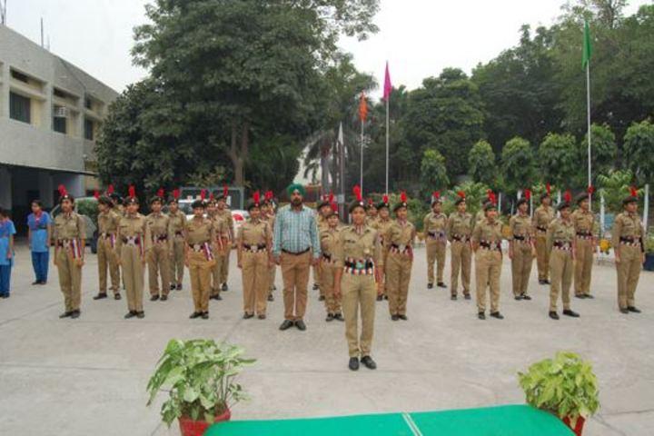 Rashtriya Sanskrit Model Senior Secondary School-NCC