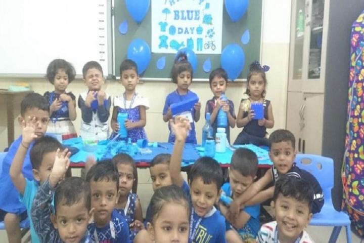 Powai English High School-Blue Day