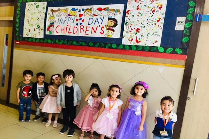 RN Shah International School-Childrens Day Celebration
