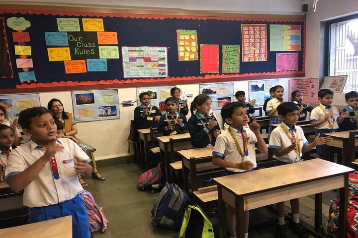 RN Shah International School-Class Room