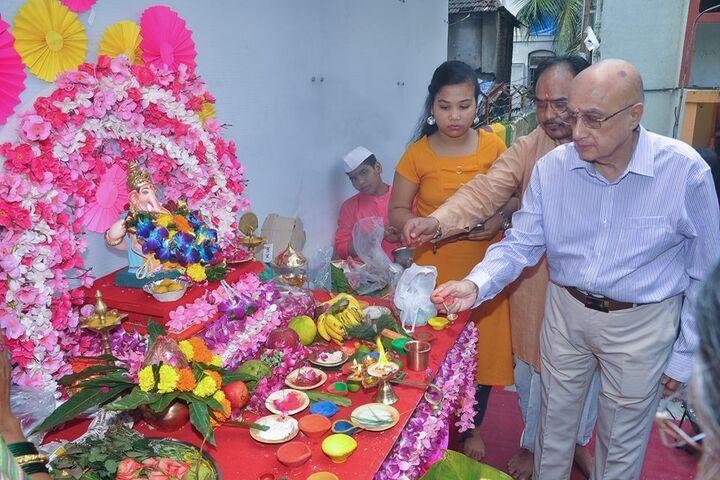 Lilavati Lalji Dayal High School-Ganesh Celebration