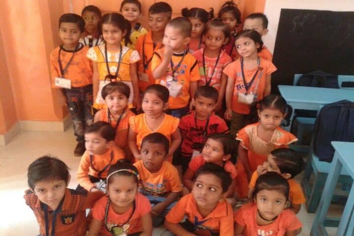 Lilavati Lalji Dayal High School-Orange Day