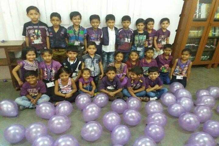 Lilavati Lalji Dayal High School-Purple Day