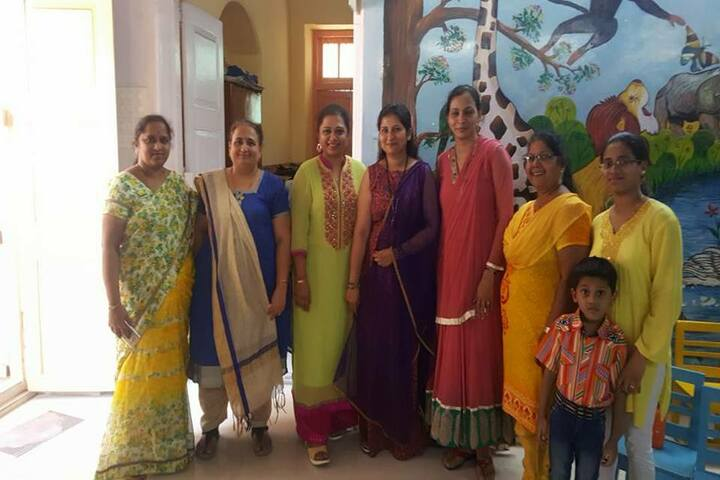 Lilavati Lalji Dayal High School-Teachers Day