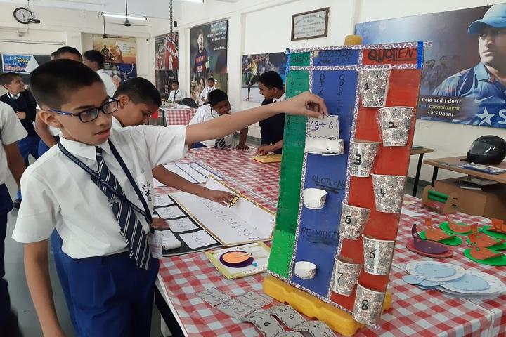 Sardar Dastur Hoshang Boys High School-Maths Exhibition
