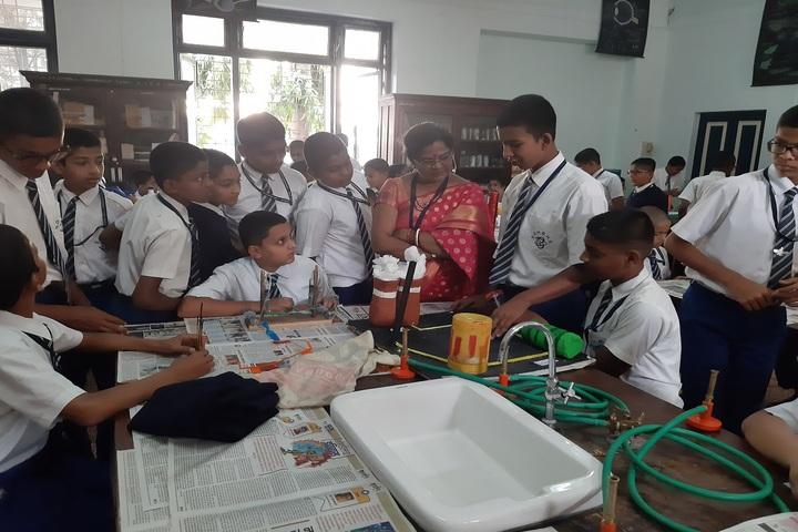 Sardar Dastur Hoshang Boys High School-Science Exhibition