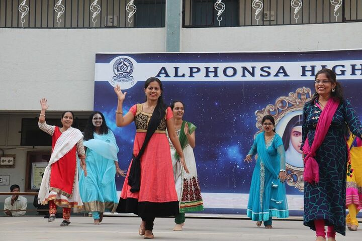 Alphonsa High School-Dance