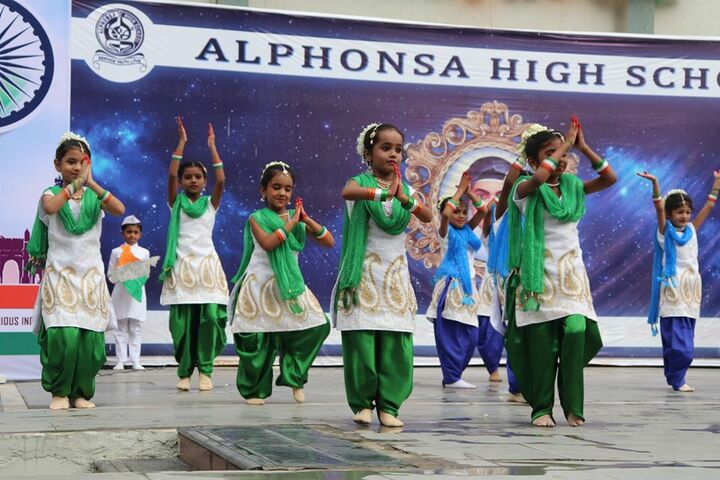 Alphonsa High School-Republic Day
