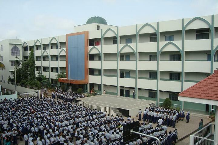 Alphonsa High School-School Building