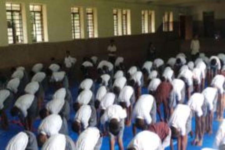 Don Bosco High School and Junior College-Yoga