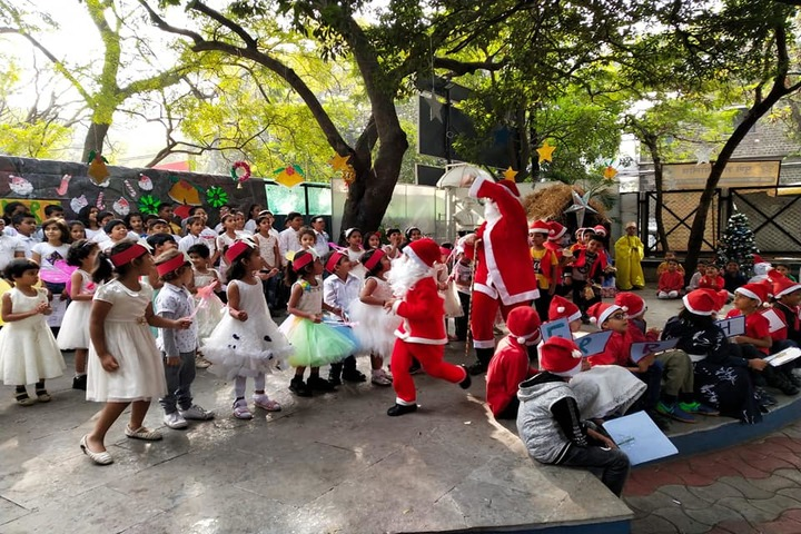 Rewachand Bhojwani Academy-Christmas Celebration
