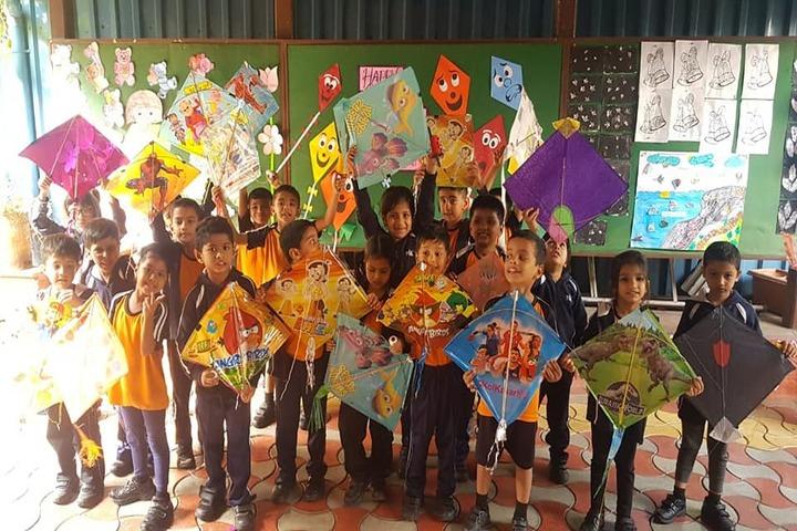 Rewachand Bhojwani Academy-Kite Festival