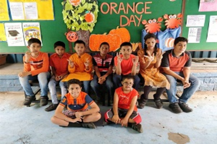 Rewachand Bhojwani Academy-Orange Day