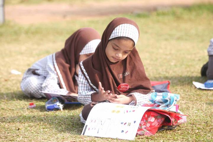 Iqra International School-Drawing Activity