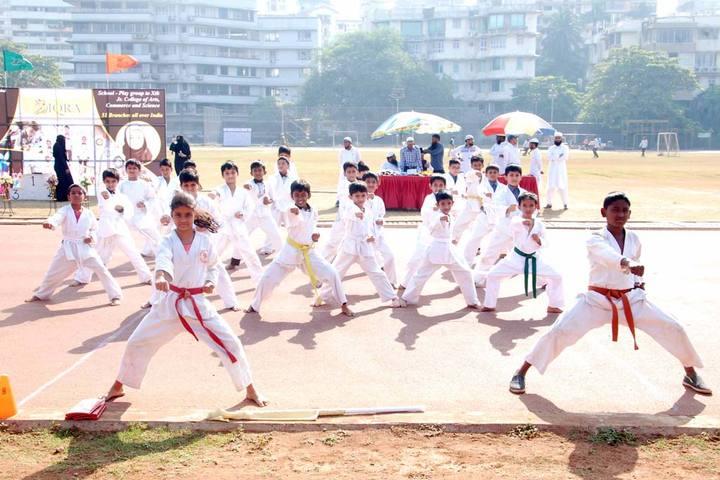 Iqra International School-Karate Activity