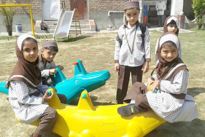Iqra International School-Playing Area