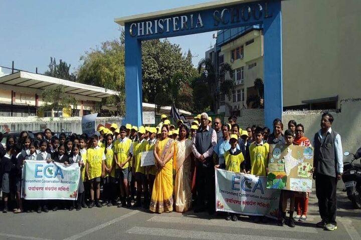 Christeria High school-Rally