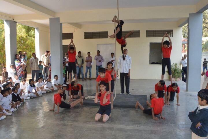 Abhishek Vidyalayam-Gymnastics