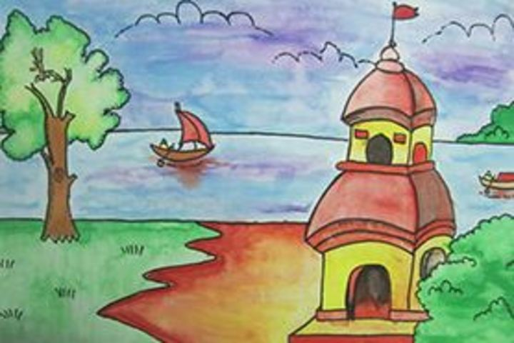 Vidya Niketan English Medium School-Drawing