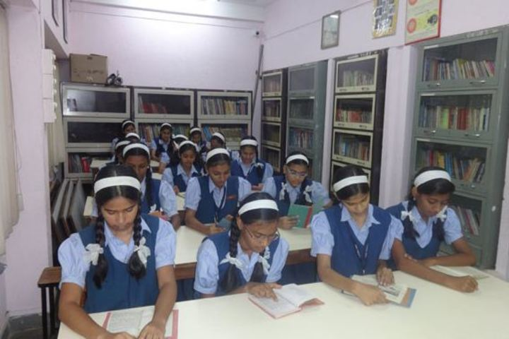 Vidya Niketan English Medium School-Library