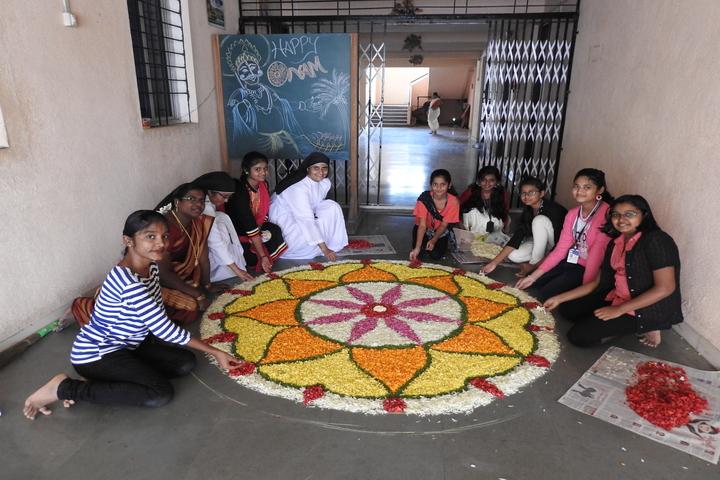 St Joseph s Bethany Convent School-Rangoli Competition