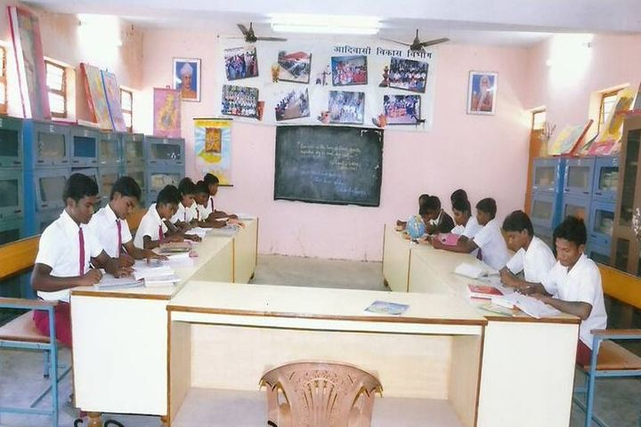 Government Model Higher Secondary School-Library
