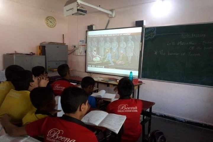 Beena English Medium School-Digital Classroom