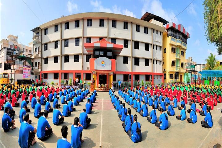 Nirmal Bethany High School and Junior College-Yoga Activity