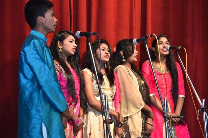 Saraswati Vidyalaya Union-Group Singing