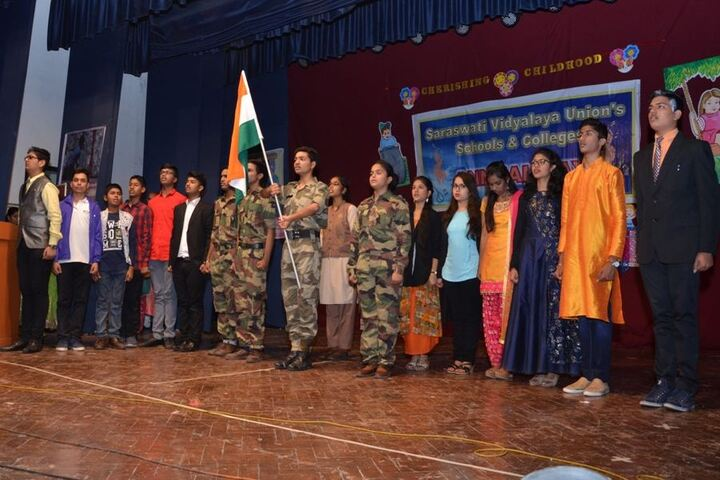 Saraswati Vidyalaya Union-Republic Day