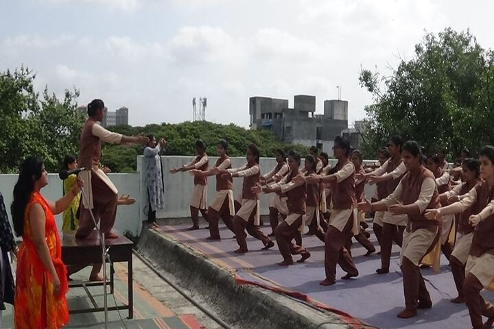 Saraswati Vidyalaya Union-Yoga Day