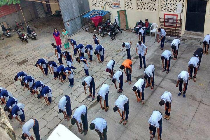 Shri Gopal High School And Junior College-Yoga Day