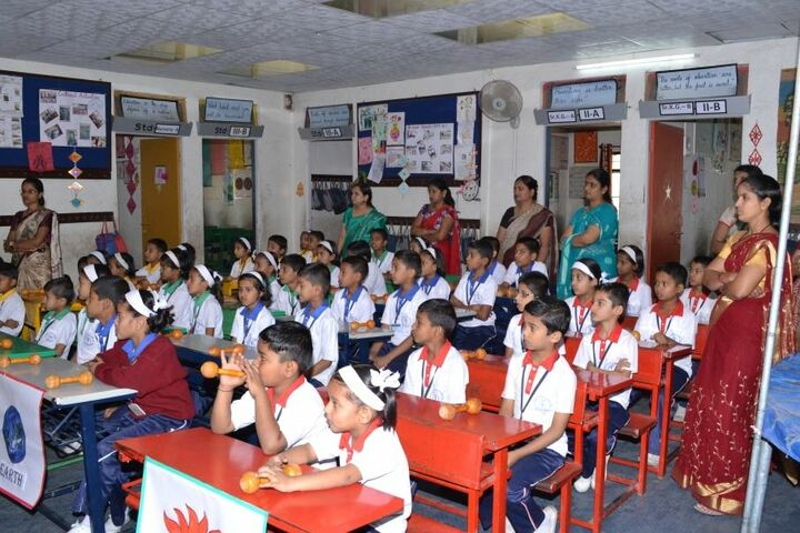 Wonderland English Medium School-Classroom