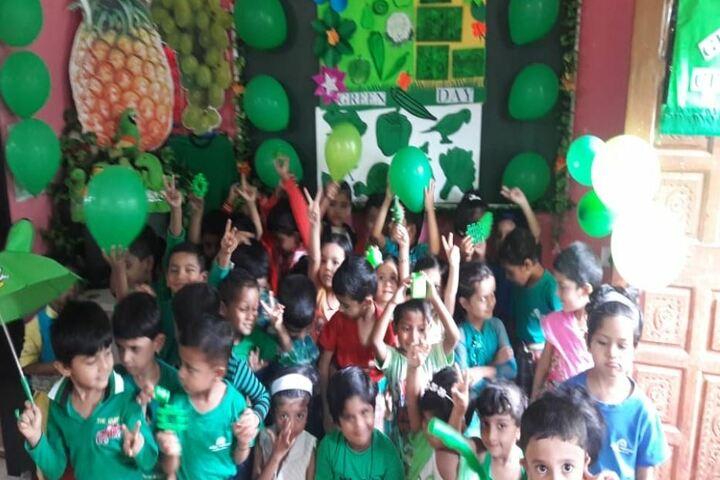 Wonderland English Medium School-Green Day Celebrations
