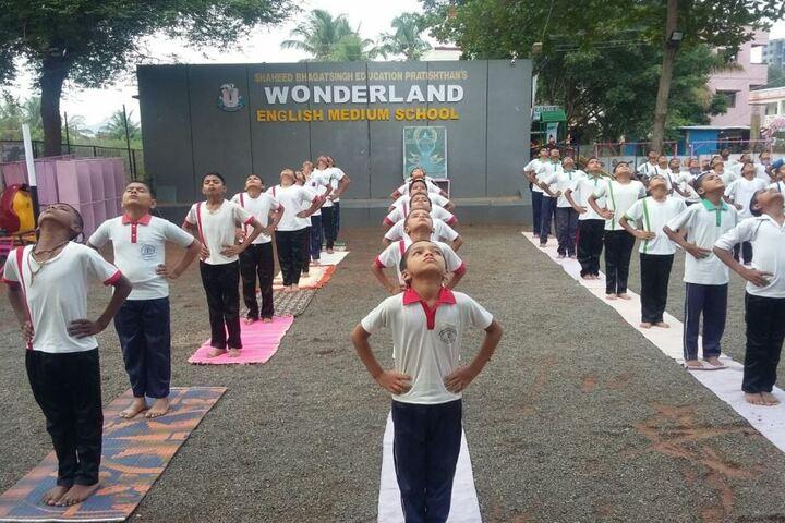 Wonderland English Medium School-Yoga
