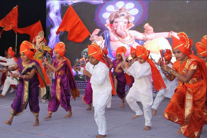 New English School and Junior College-Traditional Dance