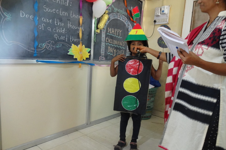Blue Heavens English Medium School-Childrens Day