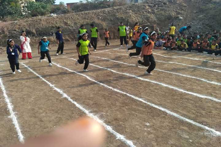 Blue Heavens English Medium School-Running Race