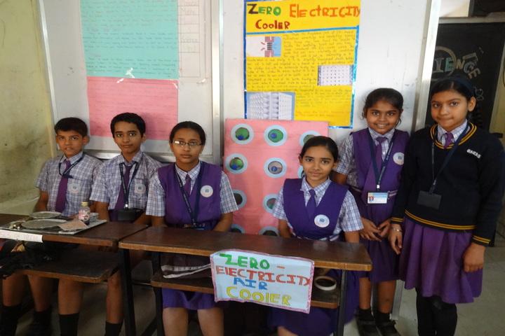 Blue Heavens English Medium School-Science Fair