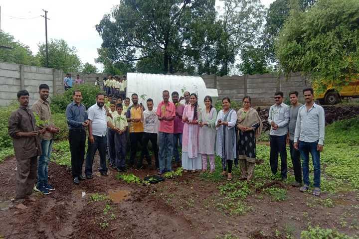 St Josephs Convent School-Tree Plantation