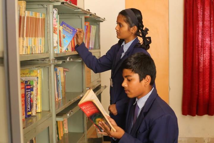 Vijayamala Vidya Mandir English Medium School-Library