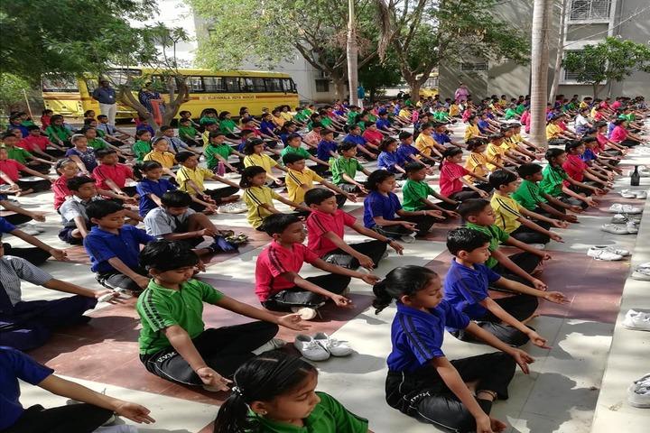Vijayamala Vidya Mandir English Medium School-Yoga