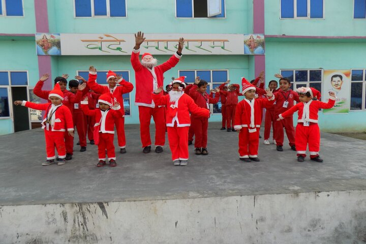 Yuva Shakti Senior Secondary School-Christmas Celebrations