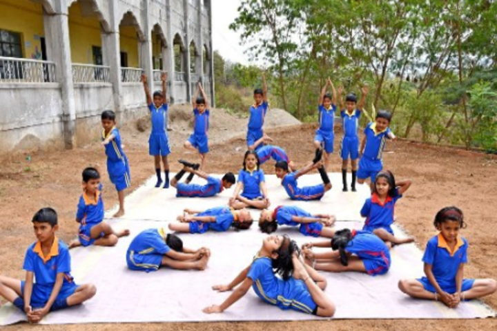 Prajnanabodhini English Medium School-Yoga