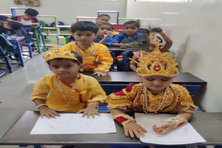 Rasiklal M Dhariwal English Medium School And Junior College-Drawing